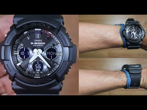 CASIO G-SHOCK BIG CASE GAS-100B-1A TOUGH SOLAR - UNBOXING