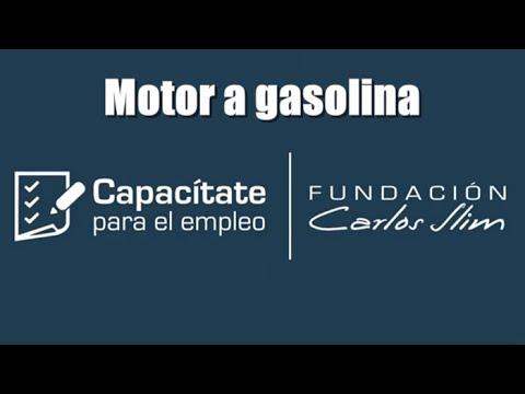 Partes de un motor de gasolina