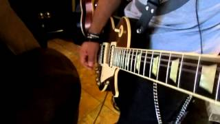 guns n roses- wild horses backing track cover,gibson gold top