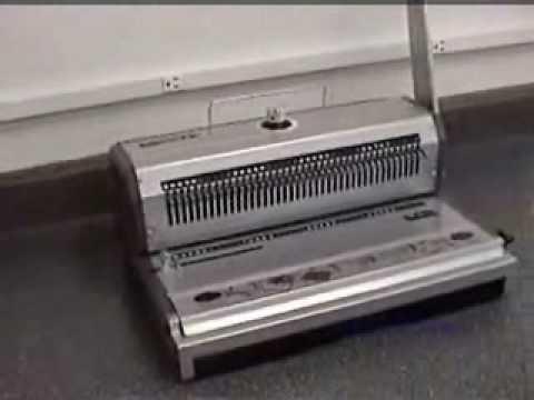 Akiles WireMac Manual Punch & Binding Machine