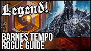(Hearthstone) Barnes Lich King Tempo Rogue Deck Guide
