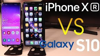 iPhone XR vs Samsung Galaxy S10 (Full review) (Speed test)