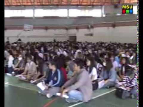 มมส จัดโครงการปัจฉิมนิเทศนิสิตกู้ยืมเพื่อการศึกษา ประจำปีการศึกษา 2557