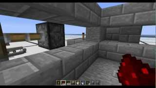 ► Minecraft Epic Hidden Door(Bud Switch) Tutorial