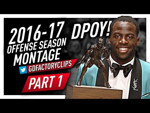 Draymond Green Offense & Defense Highlights Montage 2016/2017 (Part 1) - Officially DPOY!