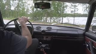 Lada 2103 driving