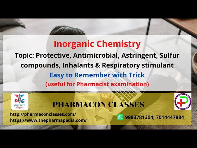 Protective, Antimicrobial, Astringent, Sulfur compounds, Inhalants & Respiratory stimulant