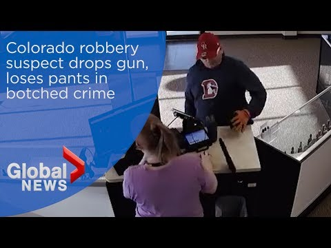 Shannon The Dude - Man Loses Gun & Nearly Pants In Attempted Robbery