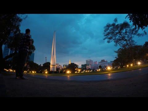 Yangon Myanmar Timelapse (GoPro)