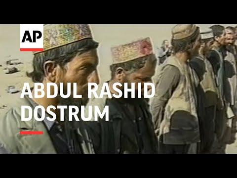 AFGHANISTAN: AFGHAN WARLORD ABDUL RASHID DOSTRUM PROFILE