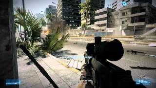 Battlefield 3 Gameplay (PC) - Full HD 1080p High Settings NVIDIA GeForce GT 650M Asus N76VZ