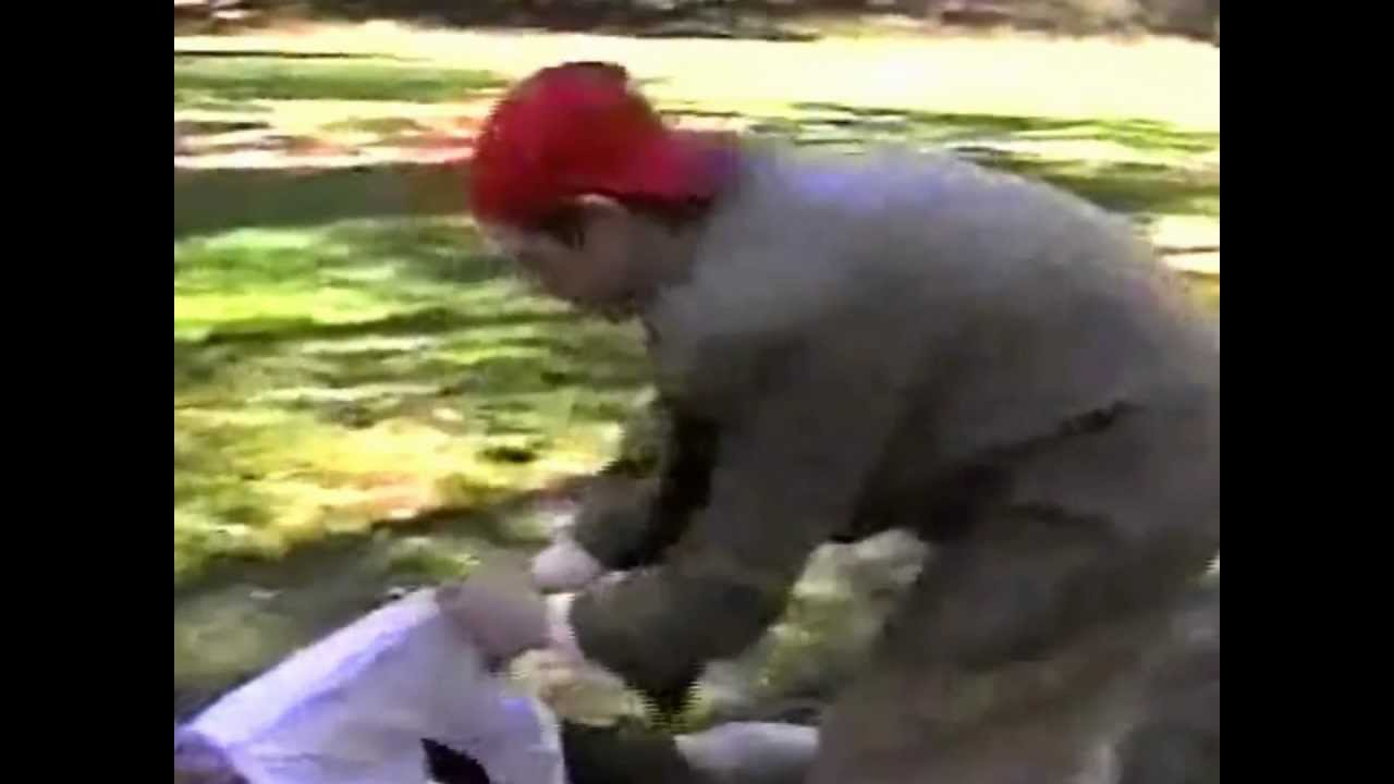 business woman beats up man backyard wrestling youtube