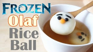 How to make Olaf Rice Balls  雪寶湯圓