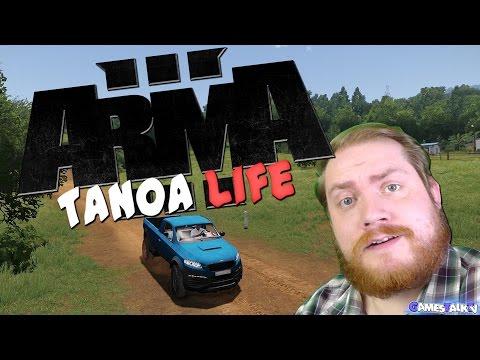 Arma 3 Tanoa Life ~ Willkommen in Tanoa ~ #01 [HD+][DEUTSCH][gamesTalkTV]