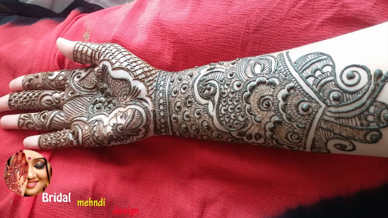 mehndi designs for arms bridal