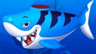 ДОКТОР КИД 2 лечу акулу, осьминожку и других рыбок. Мультяшная игра про морских животных пурумчата