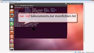 L'organisation des fichiers sous Linux avec la commande tar