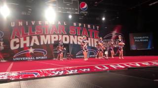 Charlotte Allstars - Mellow Yellow - Youth Level 1 division. Univer...