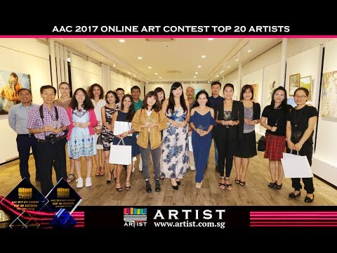 AAC2017 Singapore Art Contest Award Ceremony and Winners