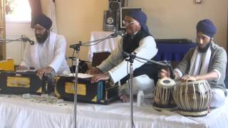 Rahi Bains at Kettering Gurudwara - Shabad 2