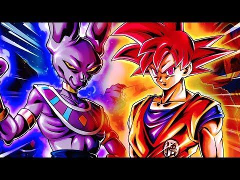 KAIOKEN, VEGETA, SSG GOKU & BEERUS HYPE! Dragon Ball Legends DB