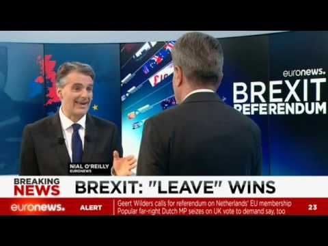 EU commissioner Günther Oettinger speaks to Euronews on Britain's vote to leave the bloc