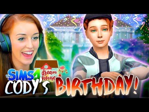 🎂CODY'S BIRTHDAY! (finally!) 🎂 (The Sims 4 #89!🏡)