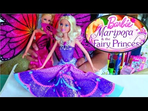 Barbie Mariposa and the Fairy Princess (Mariposa Doll) - Barbie Doll Collection