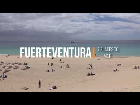7 places to visit in Fuerteventura 4K