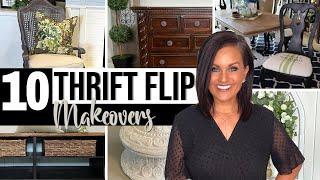 ⭐️Absolute TOP 10 Bęst THRIFT FLIP Furniture & Decor Ideas On a Budget!