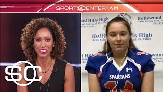 Female QB was ready to make Florida football history | SportsCenter | ESPN