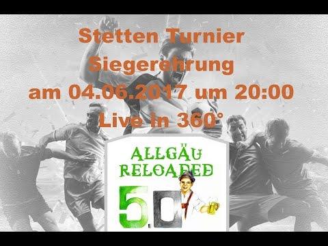 Siegerehrung Stetten Turnier 2017