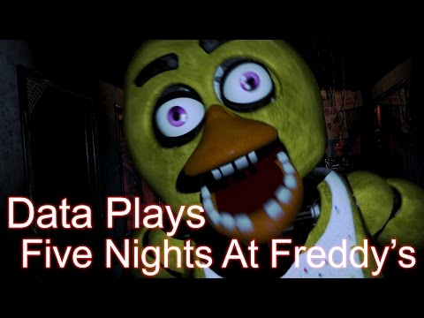 Data Plays - Five Nights at Freddy's Night 3/4 - OMG