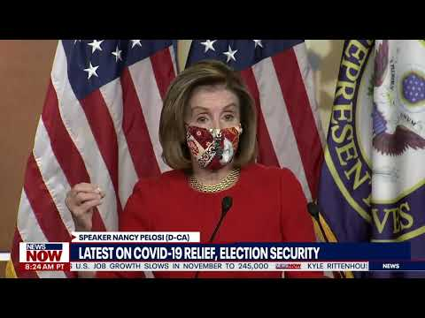 CRUSH THE VIRUS: Nancy Pelosi Says A Deal Will Get Done Now Because Biden Will Be President