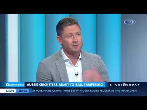 Michael Clarke admitted that Steven Smith is not a great leader about his ball tampering action.
