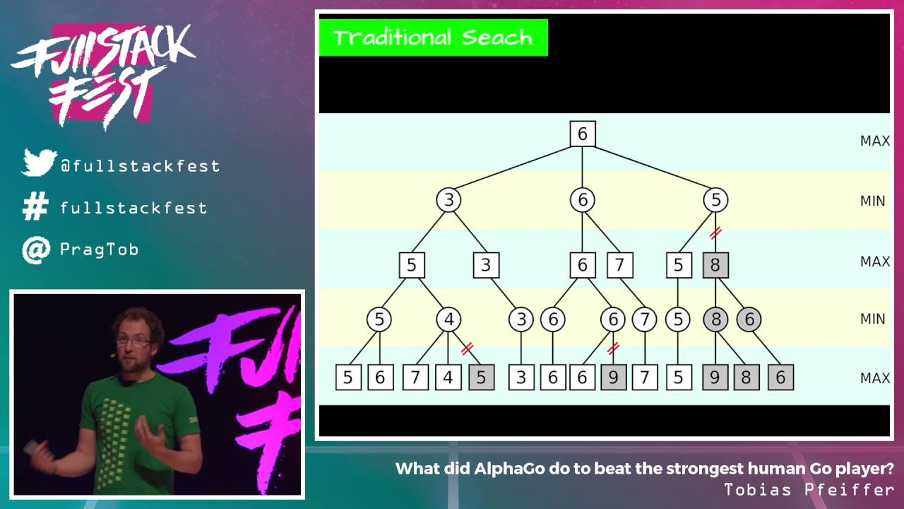 What did AlphaGo do to beat the strongest human Go player? (Tobias Pfeiffer) - Full Stack Fest 2016