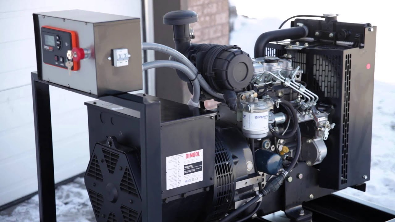 Home Generators Perkins Generator built by Aurora Generators in