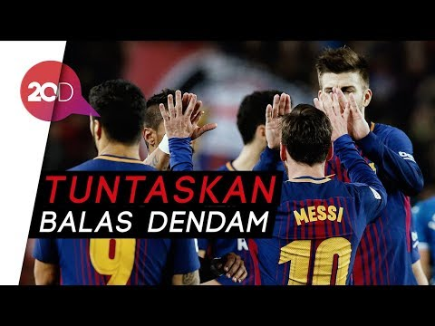 Barcelona Melaju ke Semifinal! Mp3
