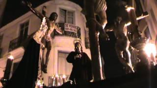 Cristo del Perdón. Cofradía de Dolores del Puente. Semana Santa de Málaga 2012.