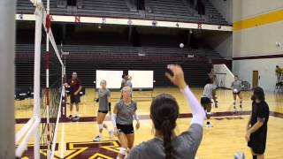 Repeat youtube video Gopher Volleyball's Female Warrior