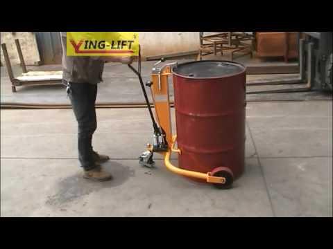 DT250  Ecnomic Oil Drum Trolley