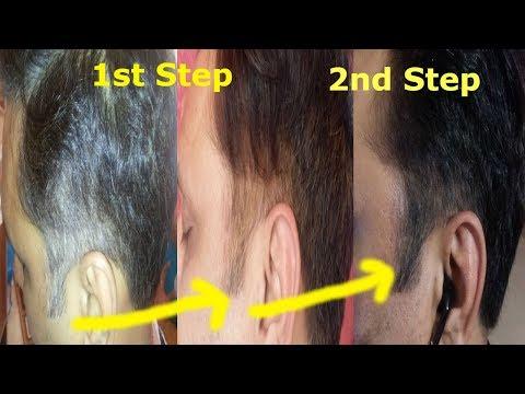 2 Step Henna Indigo Process | Henna and Indigo to Turn white hair to black permanently and Naturally