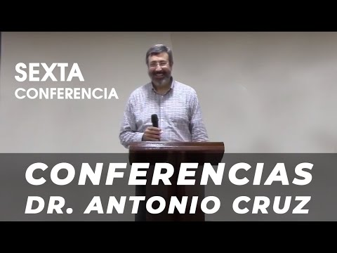6ª Conferencia Dr. Antonio Cruz