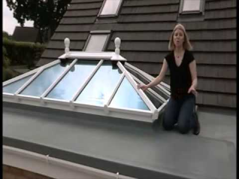 fibreglass grp flat roof solutions by proshield youtube