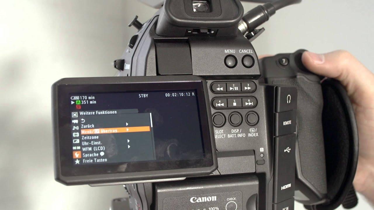Canon EOS C100 - Setup & Overview - MagnanimousRentals com