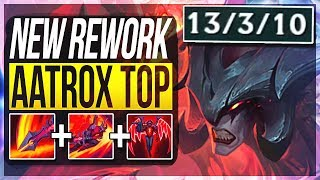 AATROX REWORK IS ACTUALLY SO STUPID! (FIRST PENTAKILL!) Aatrox Top Gameplay | League of Legends