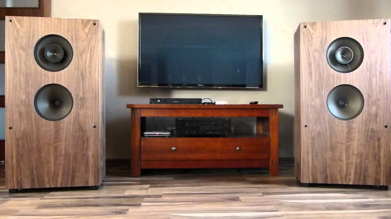 Saba Open Back Speakers Diy Amp Ta2020 Tripath Mini 1 Youtube