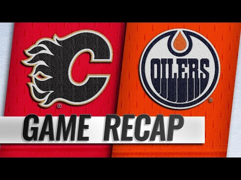 Gaudreau, Monahan power Flames past Oilers