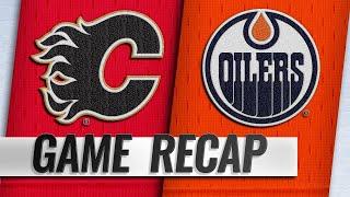 Gaudreau, Monahan power Flames past Oilers