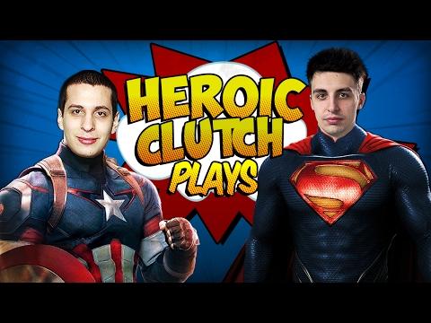 HEROIC CLUTCH PLAYS (CS:GO CLUTCH COMPILATION)